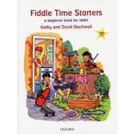 BLACKWELL D. FIDDLE TIME STARTERS VIOLON