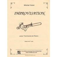 HULOT M. IMPROVISATION TROMBONE