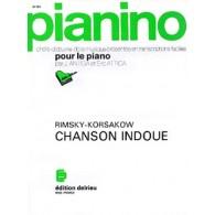 RIMSKY-KORSAKOV N. CHANSON INDOUE PIANO