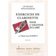 SCHMITT M.L. EXERCICES DE CLARINETTE