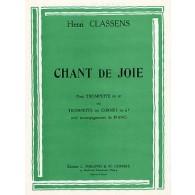 CLASSENS H. CHANT DE JOIE TROMPETTE