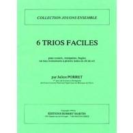 PORRET J. TRIOS FACILES TROMPETTES OU CORS
