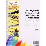 JOUBERT C.H. DIALOGUE DE RODOMONT ET DE TRANCHE-MONTAGNE TROMPETTE