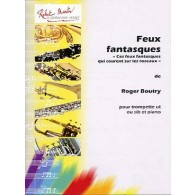 BOUTRY R. FEUX FANTASQUES TROMPETTE