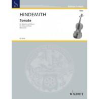 HINDEMITH P. SONATE ALTO