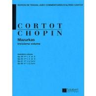 CHOPIN F. MAZURKAS VOL 3 PIANO