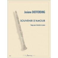 DIEFFERDING J. SOUVENIR D'AMOUR CLARINETTE