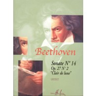 BEETHOVEN L. SONATE N°14 OP 27 N°2 PIANO