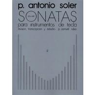 SOLER P.A. SONATAS VOL 2 PIANO