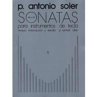 SOLER P.A. SONATAS VOL 5 PIANO