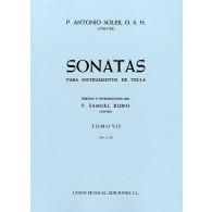 SOLER P.A. SONATAS VOL 7 PIANO
