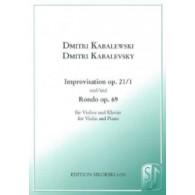 KABALEVSKI D. IMPROVISATION RONDO VIOLON