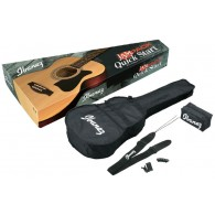 "PACK IBANEZ VC50NJP-NT JAM PACK FORMAT ""GRAND CONCERT"" NATUREL"