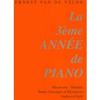 VAN DE VELDE METHODE ROSE VOL 3  PIANO