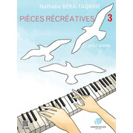 BERA-TAGRINE N. PIECES RECREATIVES VOL 3 PIANO