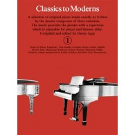 CLASSICS TO MODERNS VOL 1 PIANO