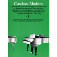 CLASSICS TO MODERNS VOL 3 PIANO