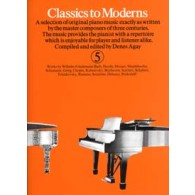 CLASSICS TO MODERNS VOL 5 PIANO