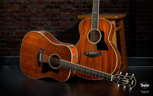 Taylor: guitares folk, guitares classiques et accessoires