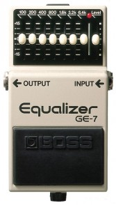 BOSS GE-7 EQUALISER