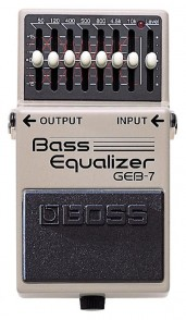 BOSS GEB-7 EQUALIZER BASS