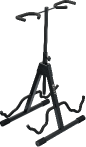 STAND GUITARE RTX G2R UNIVERSEL 2 GUTARES