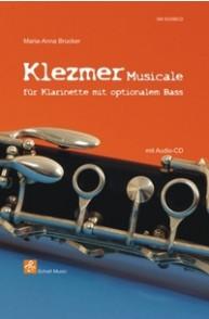 BRUCKER M.A. KLEZMER POUR CLARINETTE
