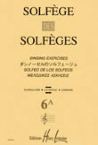 SOLFEGE DES SOLFEGES VOL 6A 2 VOIX