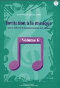ALEXANDRE J.F. INVITATION A LA MUSIQUE VOL 6