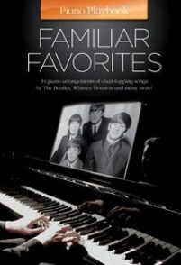 PIANO PLAYBOOK FAMILIAR FAVORITES PVG