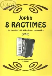 JOPLIN S. 8 RAGTIMES ACCORDEON