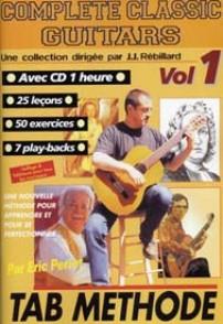 COMPLETE CLASSIC GUITARS VOL 1 AVEC CD