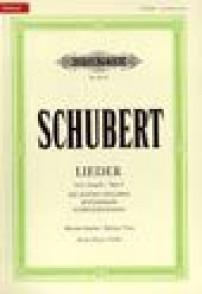 SCHUBERT F. LIEDER VOL 1 VOIX HAUTE