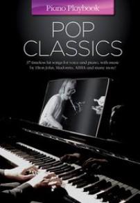 PIANO PLAYBOOK POP CLASSICS PVG