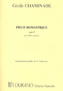 CHAMINADE C. PIECE ROMANTIQUE OPUS 9 FLUTE