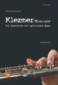 BRUCKER M.A. KLEZMER MUSICALE POUR FLUTE