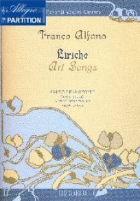 ALFANO F. AIRS D ART LYRIQUE CHANT PIANO