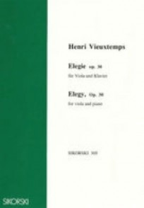VIEUXTEMPS H. ELEGIE OP 30 ALTO