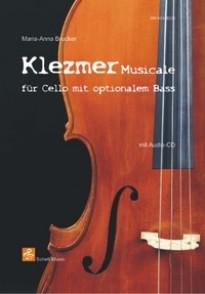 BRUCKER M.A. KLEZMER MUSICALE POUR VIOLONCELLE