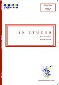 LONDEIX A. 13 ETUDES CAISSE CLAIRE