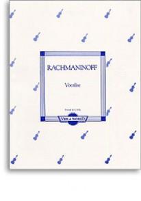 RACHMANINOFF S. VOCALISE ALTO