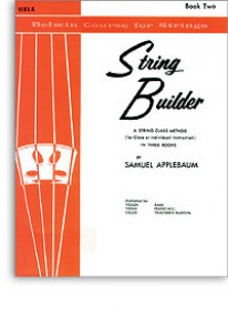 APPLEBAUM STRING BUILDER VOL 2 VIOLON