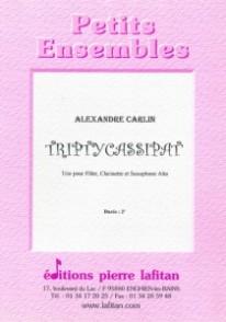 CARLIN A. TRIPTYCASSIPAT' TRIO BOIS