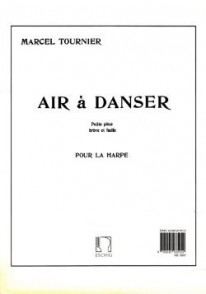 TOURNIER M. AIR A DANSER HARPE