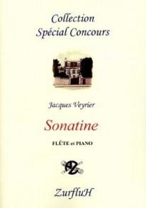 VEYRIER J. SONATINE FLUTE