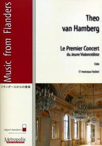 VAN HAMBERG T. PREMIER CONCERT DU JEUNE VIOLONCELLISTE
