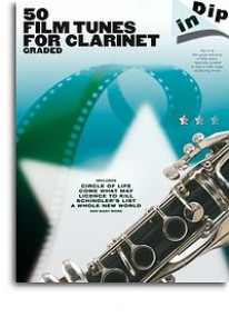 DIP IN: 50 GRADED FILM TUNES FOR CLARINET