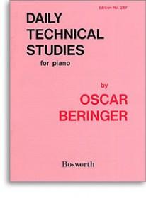 BERINGER O. DAILY TECHNIC STUDIES PIANO