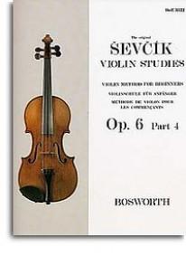 SEVCIK OPUS 6 PART 4 VIOLON