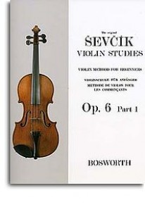 SEVCIK OPUS 6 PART 1 VIOLON